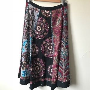 Long sequin skirt hippie gypsy style